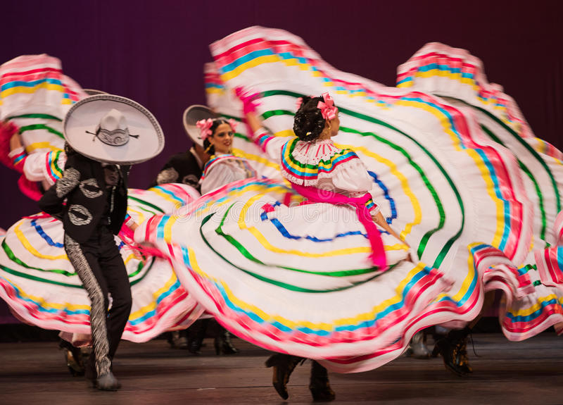 Mexican Dance royalty free stock photos