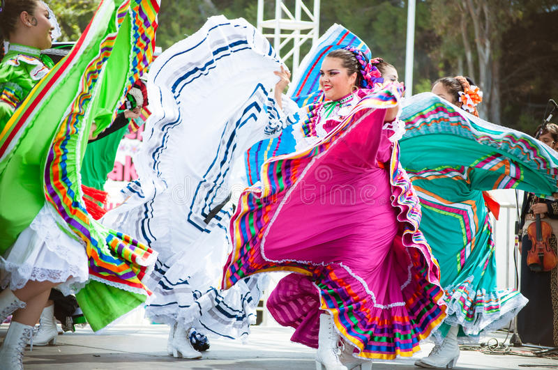 Download Mexican Dancers editorial stock photo. Image of dancer - 44861468