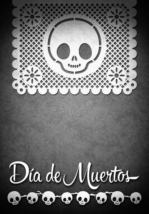 Download Mexican Day Of The Death Poster Template Stock Illustration - Image: 33944979