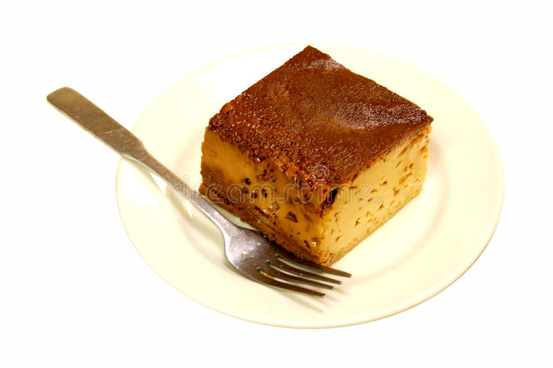 Mexican Dessert Flan royalty free stock photo