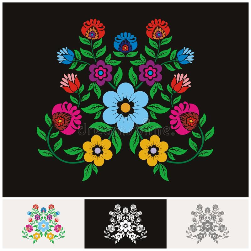 Mexican ethnic Floral vector with Lovely and adorable design. Unique floral design concept and suitable for wedding or party invitation, greeting card vector illustration