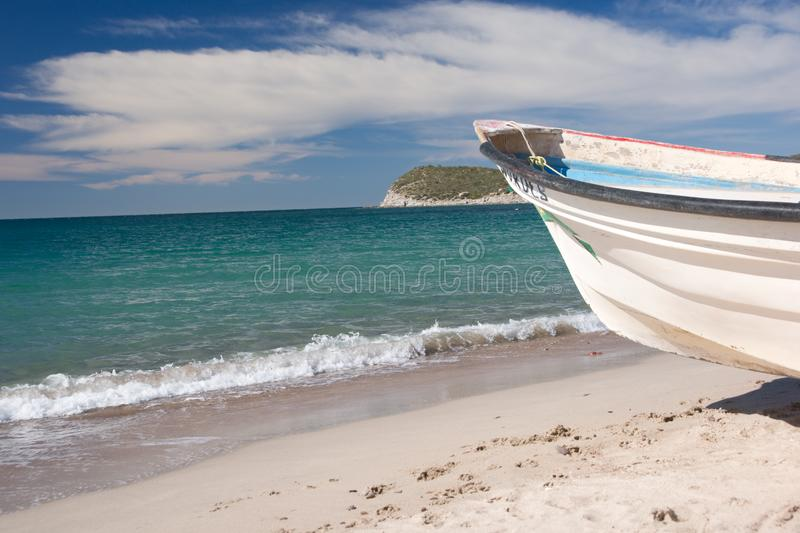 Mexican Fishing Boat stock photos