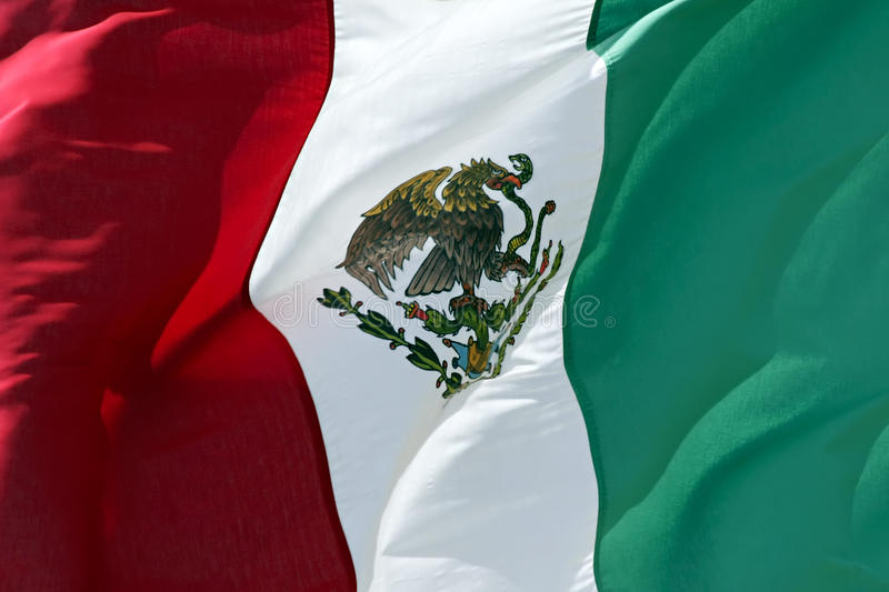 Download Mexican Flag stock image. Image of national, arms, symbolic - 12798107