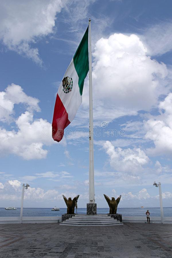 Free Mexican Flag Royalty Free Stock Photography - 2204377