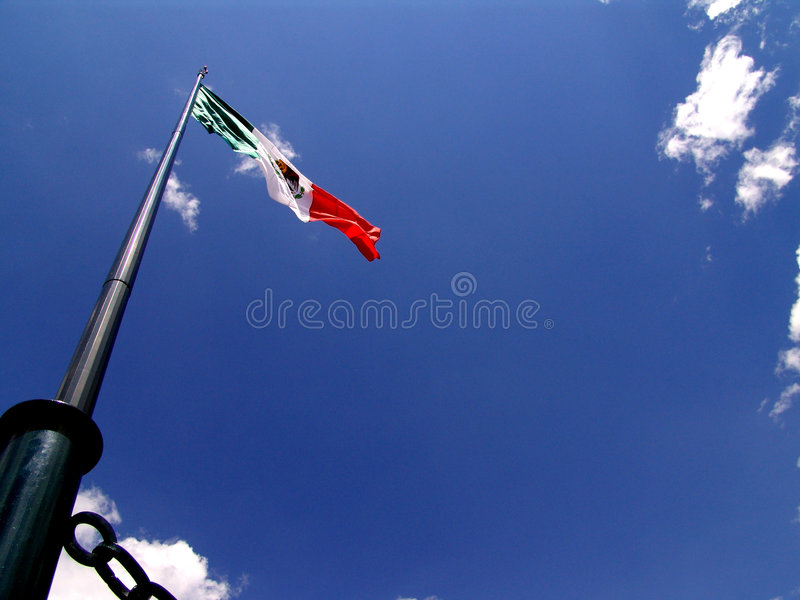 Download Mexican Flag stock image. Image of emblem, mexican, green - 94345