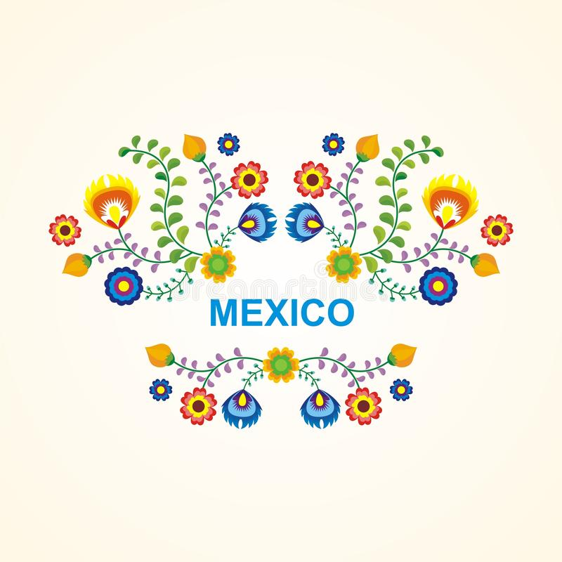Mexican ethnic flower frame border design stock vector download mexican ethnic flower frame border design stock vector illustration of 2018 colorful stopboris Image collections