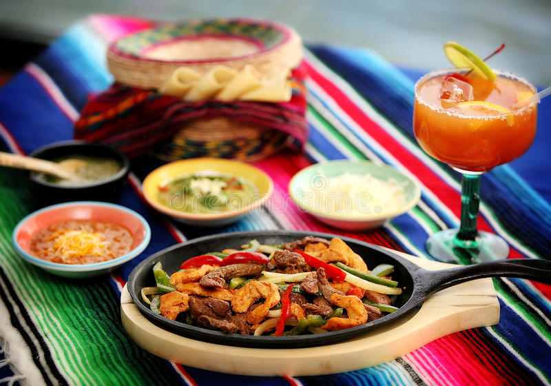 Mexican food 3 royalty free stock photo