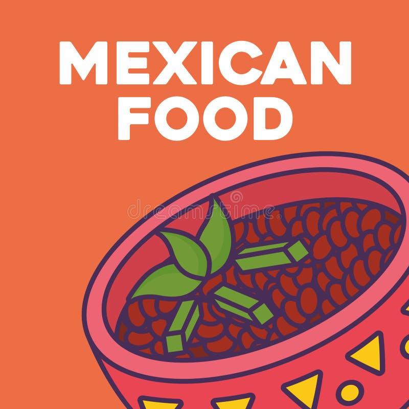Mexican food design vector illustration