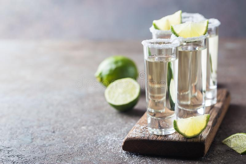 Mexican Gold Tequila stock photos