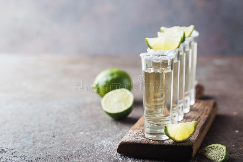 Mexican Gold Tequila royalty free stock photography
