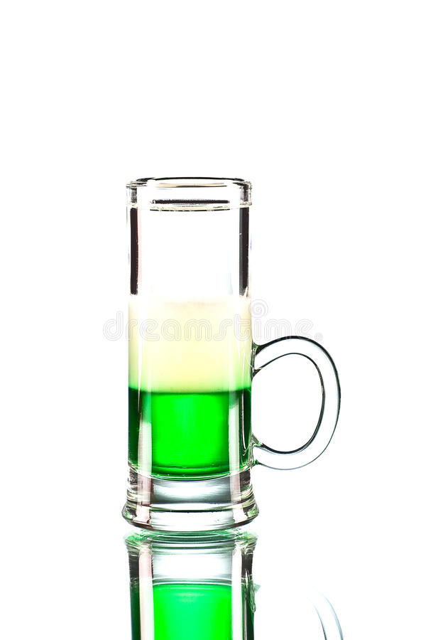Mexican Green cocktail royalty free stock photos