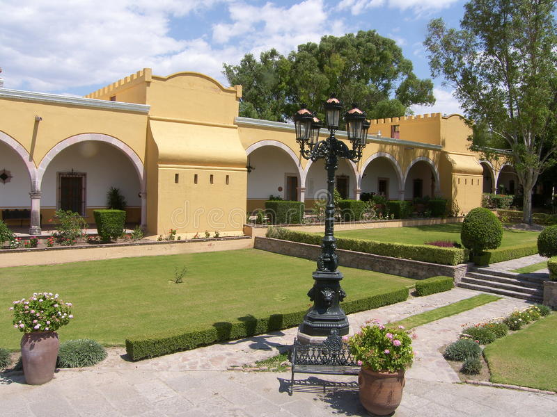 Download Mexican Hacienda stock image. Image of construction, ranch - 9762837