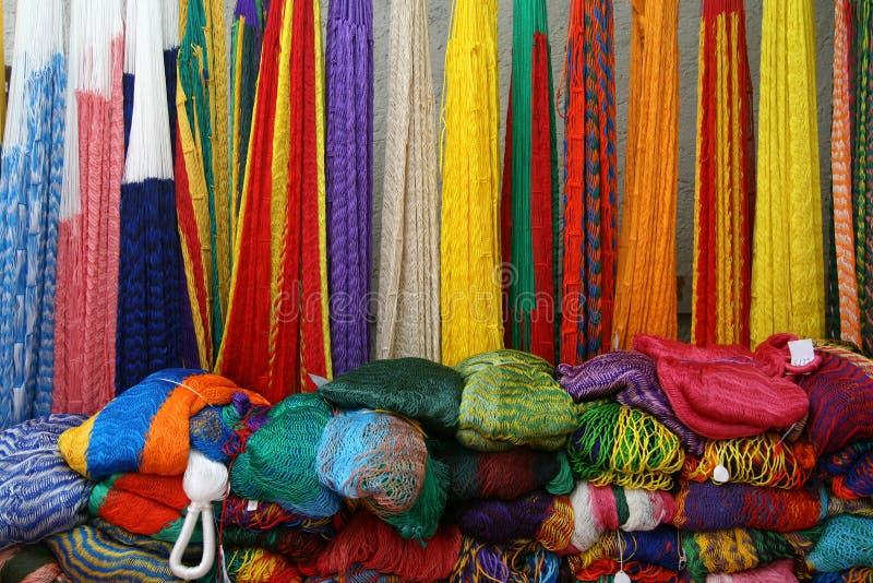 Colorful Mexican Hammocks Stock Photo Image Of Handicraft