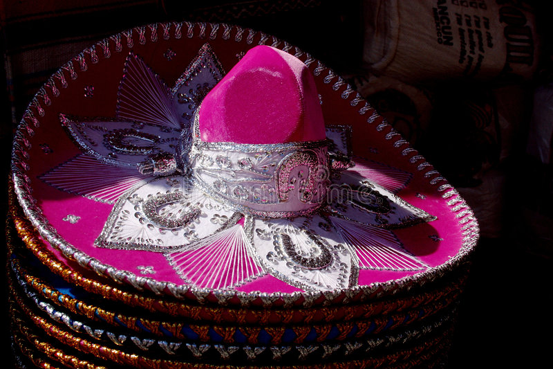 Mexican hat stock photo