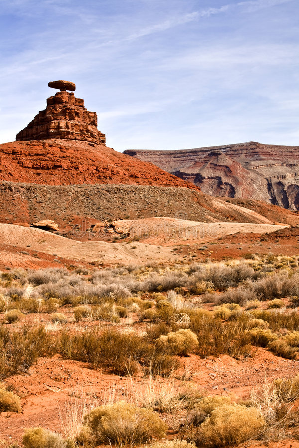 Mexican Hat Rock royalty free stock image