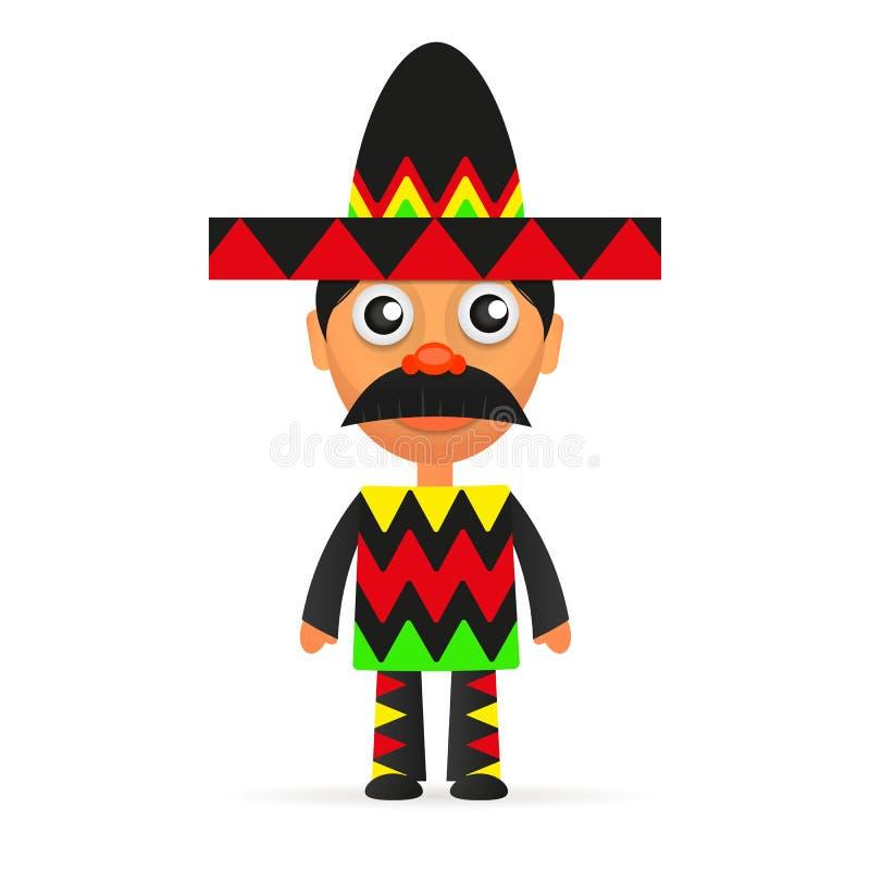 Mexican hat sombrero. Mexican hat, sombrero, mexican hat isolated, mexican hat vector vector illustration
