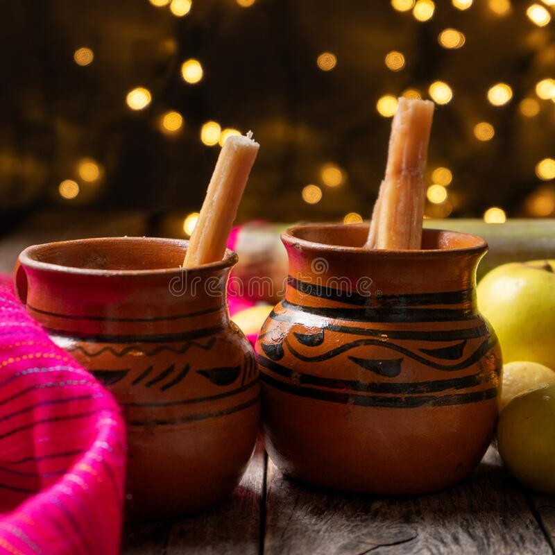 Free Mexican Hot  Christmas Punch Also Called Ponche Stock Images - 203120334