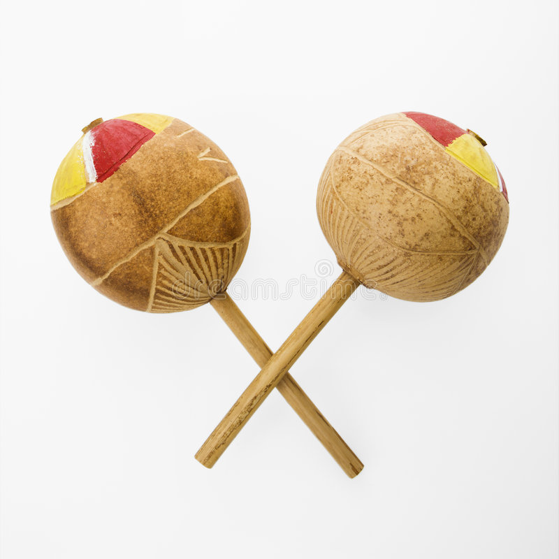 Free Mexican Maracas. Royalty Free Stock Photography - 3532417