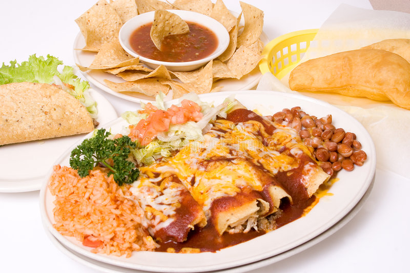 Download Mexican Meal Royalty Free Stock Photo - Image: 517455