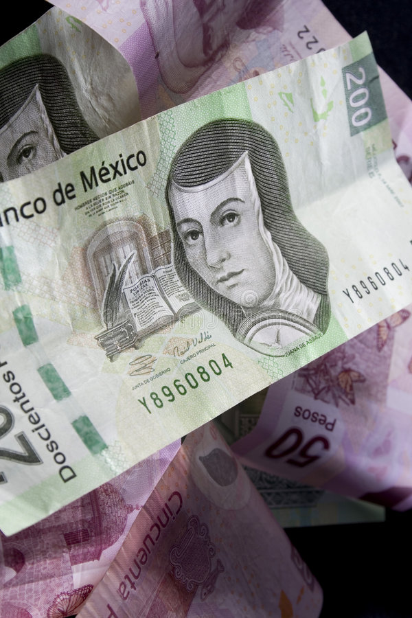 Download Mexican Money stock photo. Image of money, close, closeup - 8387262
