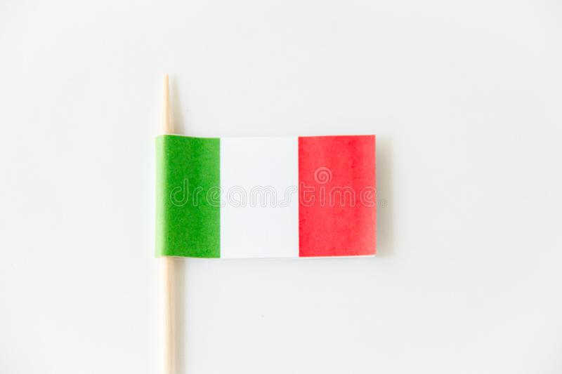mexican paper flag on white background stock image image of footer