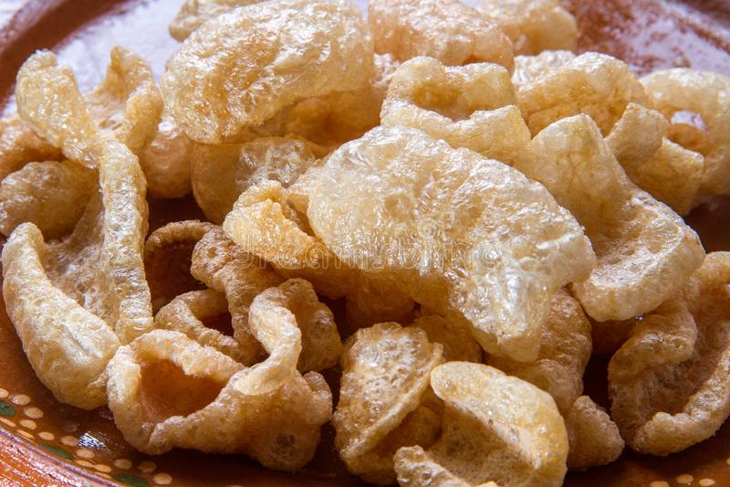 Mexican pork rinds royalty free stock photos