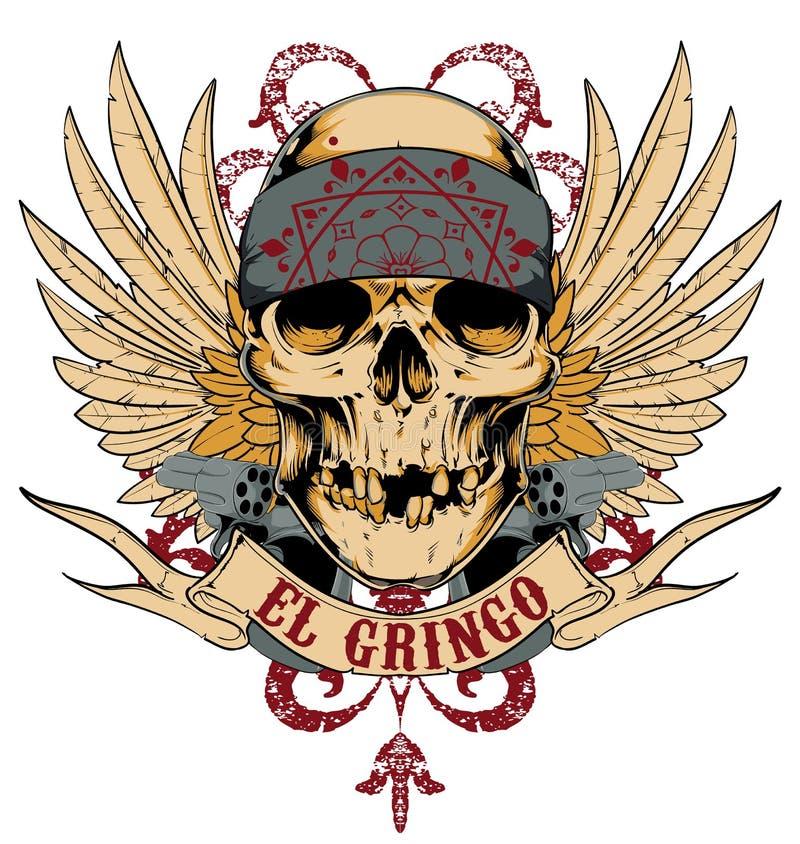 El gringo royalty free illustration