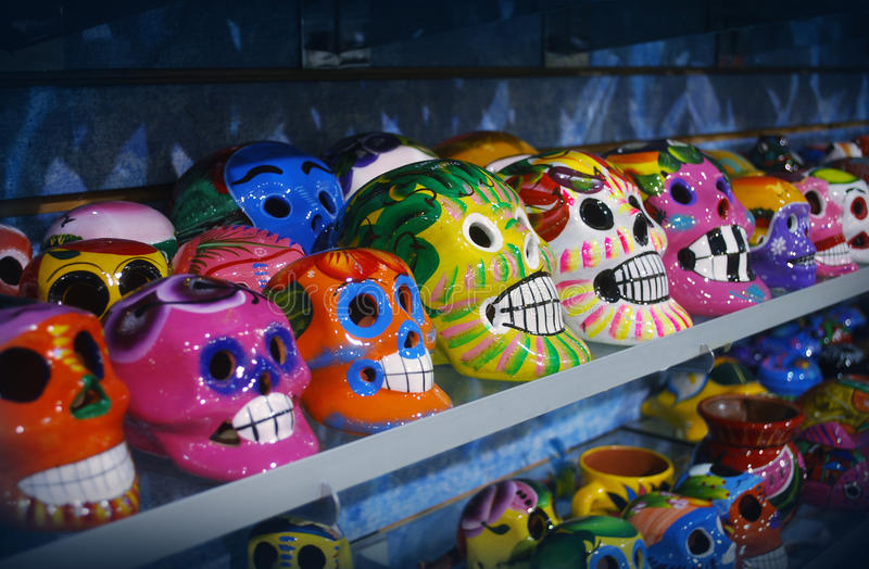Download Mexican skulls stock image. Image of traition, folkloric - 26772025