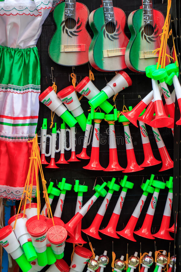 Mexican Souvenirs stock photography