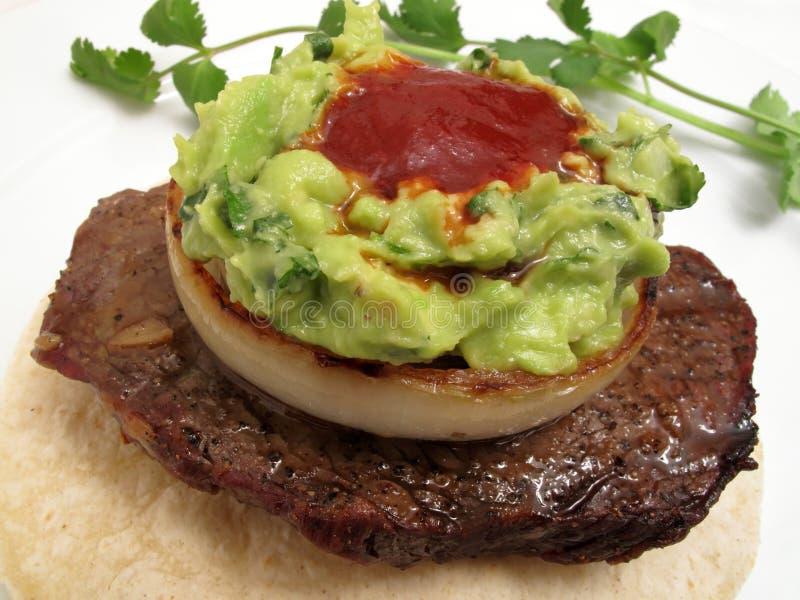 Mexican Steak Napoleon Style royalty free stock photo