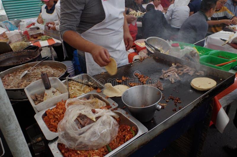Mexican street food, comida mexicana stock photo