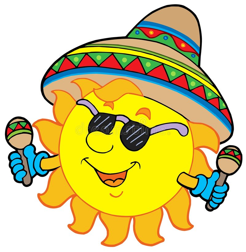 mexican sun stock vector illustration of seasonal hand 8801991 rh dreamstime com Mexican Fiesta Clip Art Mexican Symbols
