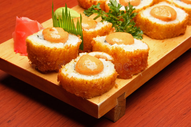 Mexican Sushi 2 Stock Photos