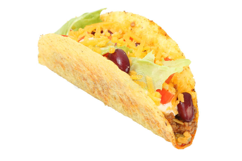 Mexican taco royalty free stock photography