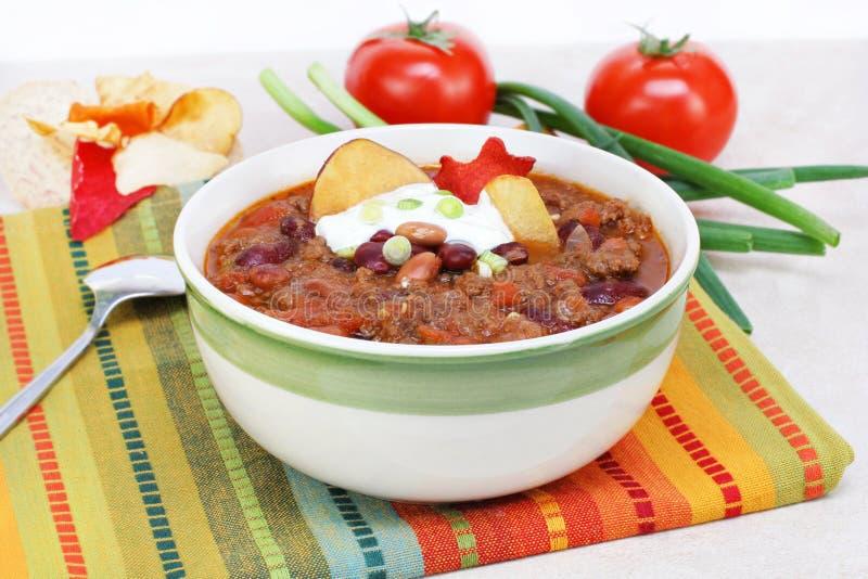 Mexican Taco Soup stock photo