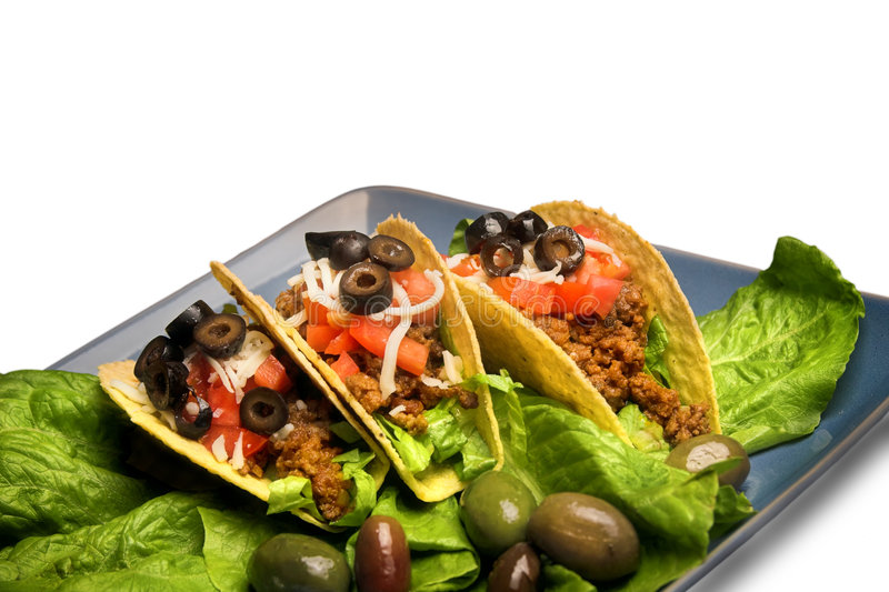Download Mexican Tacos,isolated Royalty Free Stock Photo - Image: 3806935
