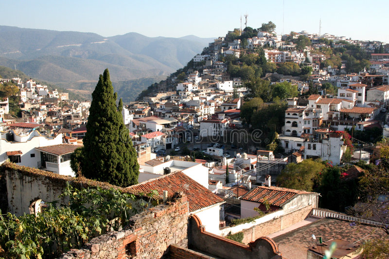 A Mexican town Taxco royalty free stock photography