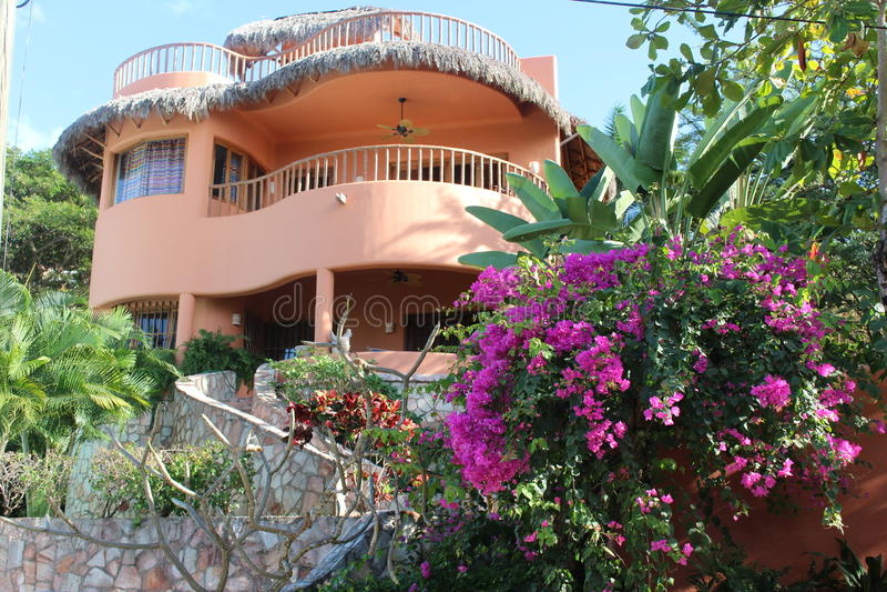 Mexican Villa stock photography