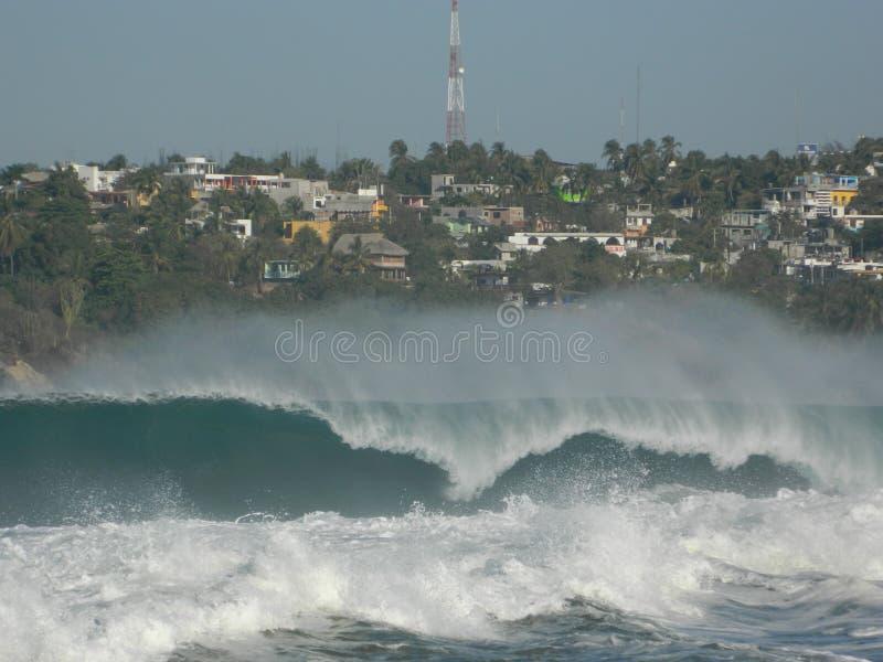 MEXICAN WAVE stock photos