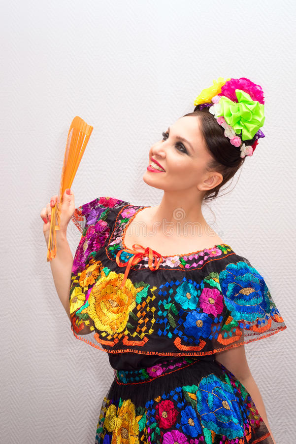 Mexican woman stock photography