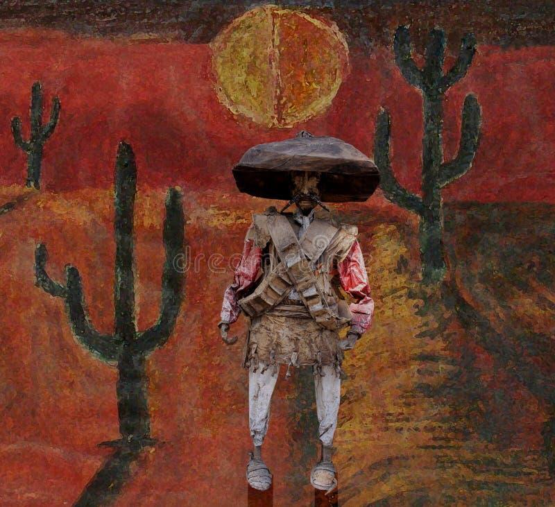 Mexicana Λα noche στοκ εικόνα