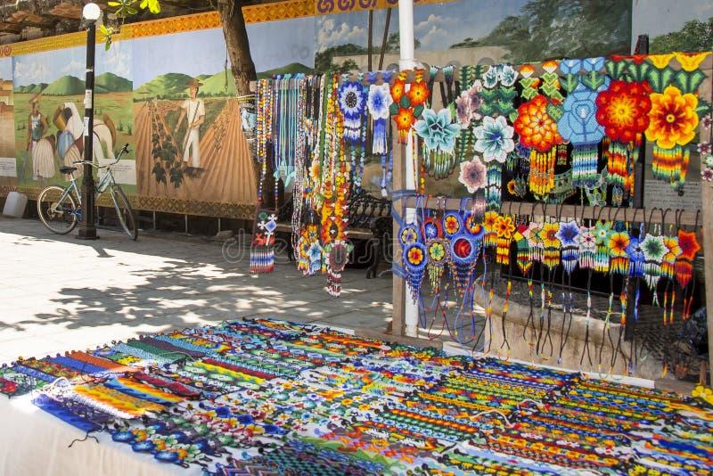 Mexicand Handcrafts i San Pancho Nayarit Mexico arkivfoton