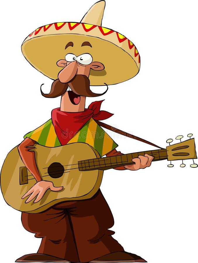 Mexicano ilustração stock