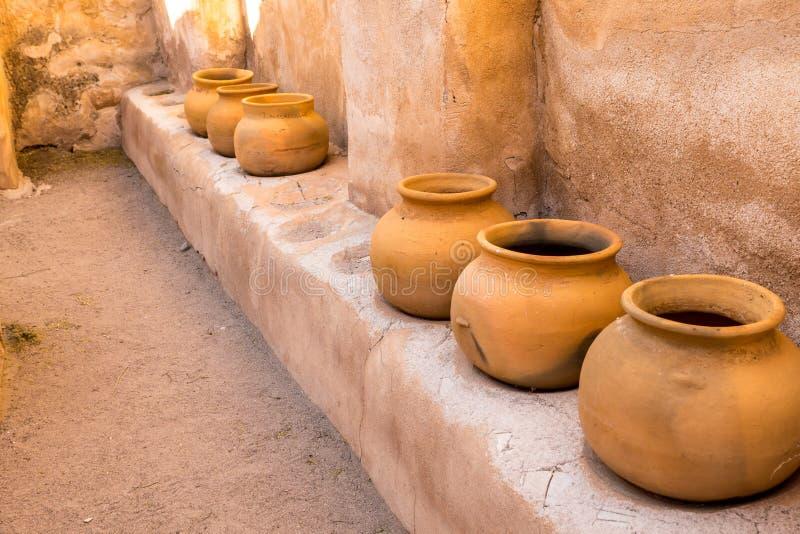 Mexicano Clay Pottery fotografia de stock royalty free
