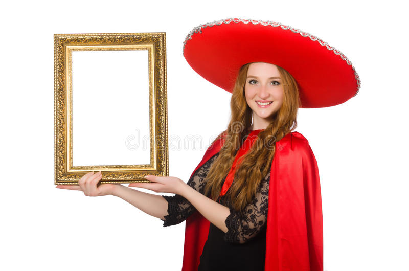 Download Mexicano divertido aislado imagen de archivo. Imagen de latino - 41914967