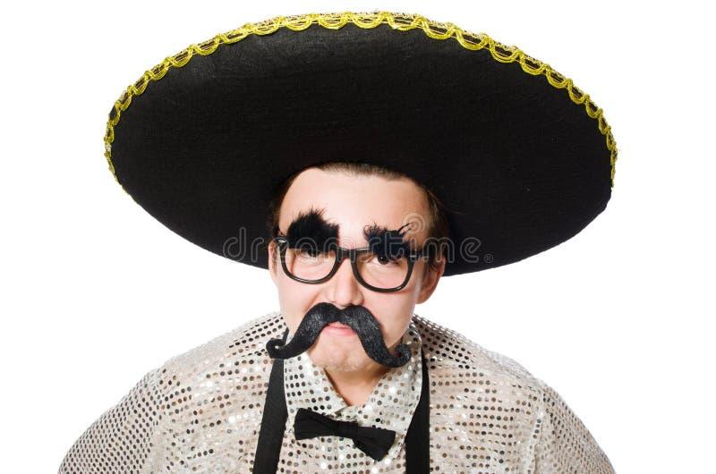 Download Mexicano divertido aislado imagen de archivo. Imagen de cómico - 41915927