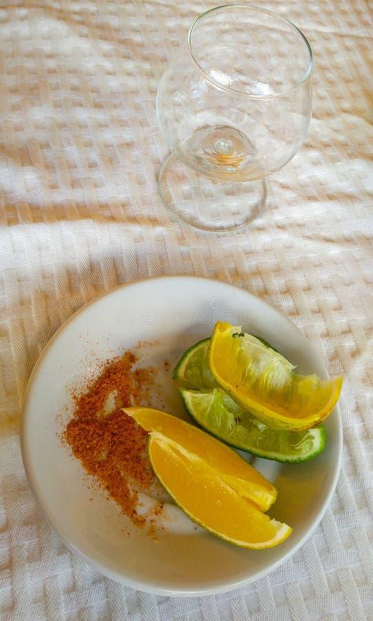 Mexicano saboroso mezcal em Iucatão, Merida imagens de stock royalty free