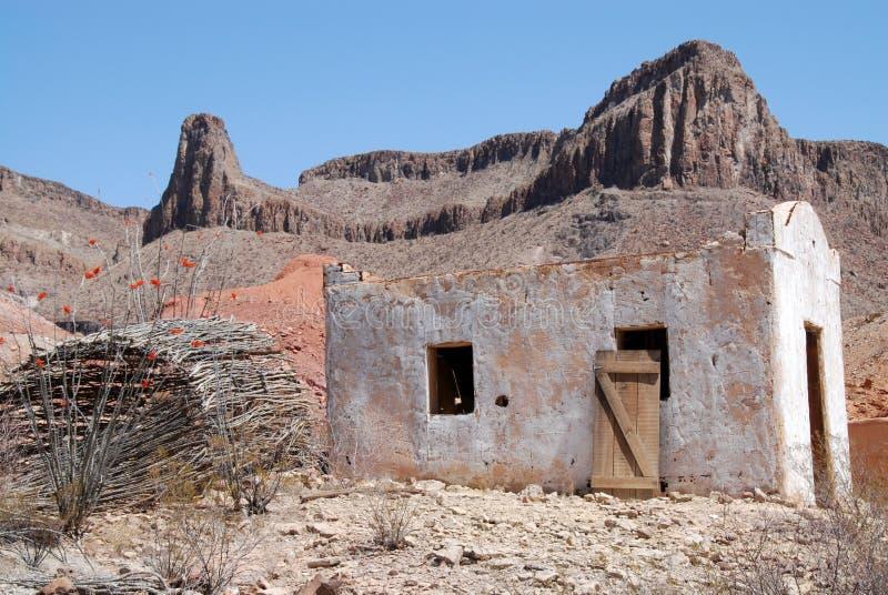 Mexicansk byggnad arkivbild