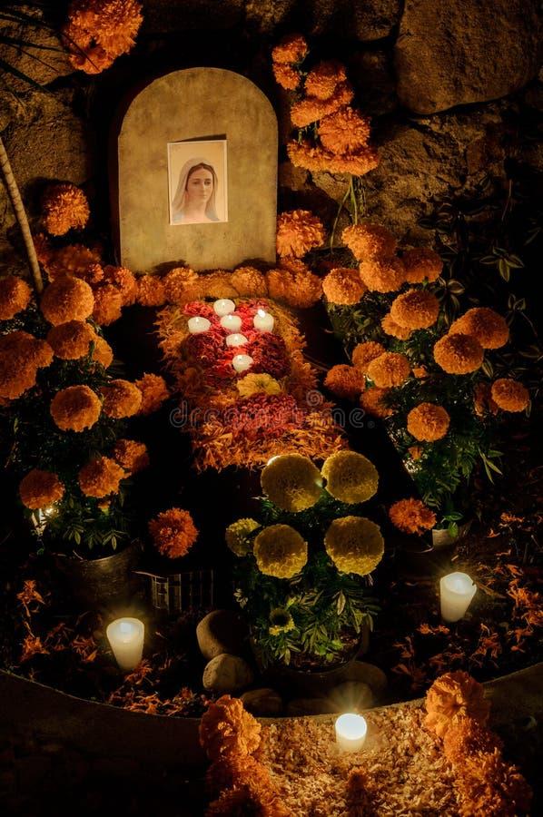 Mexicansk dag av det dött (Dia de Muertos) royaltyfri foto