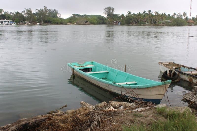 Mexicansk fiskebåt royaltyfri fotografi